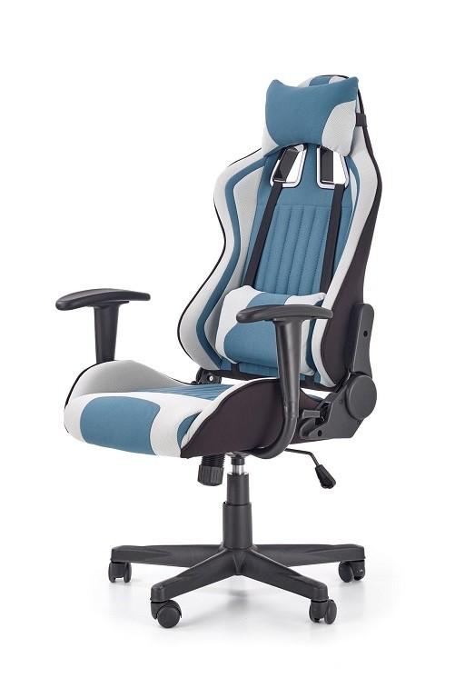 kancelářská židle Herní židle War Mist šedá, tyrkysová
