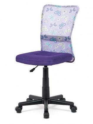 kancelářská židle Kancelářská židle Alice fialová