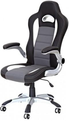 kancelářská židle Kancelářská židle Lotus (černošedá)