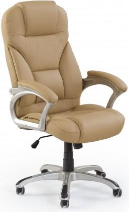 kancelářská židle Kancelářské křeslo Carlos, hnědá