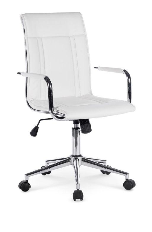 kancelářská židle Kancelářské křeslo Herbert, bílé