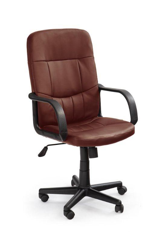 kancelářská židle Kancelářské křeslo Waldemar, hnědé