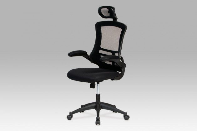kancelářská židle Kasper Black - Kancelářská židle (černá)