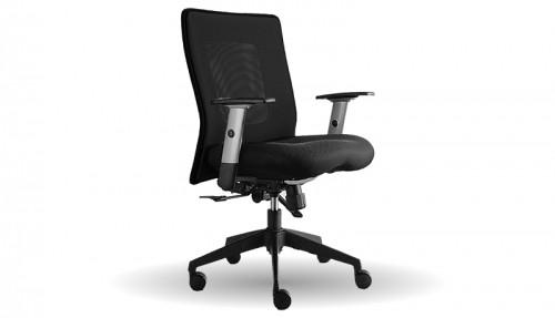 kancelářská židle Lexa (černá)