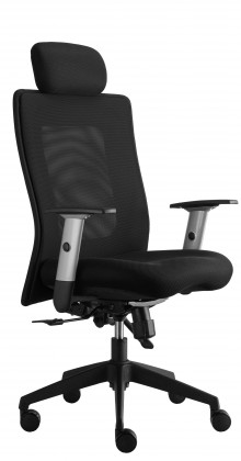 kancelářská židle Lexa s podhlavníkem (alcatraz 17, sk.3)