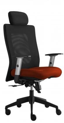 kancelářská židle Lexa s podhlavníkem (alcatraz 46, sk.3)