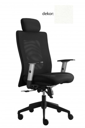 kancelářská židle Lexa s podhlavníkem (koženka 51, sk.3)