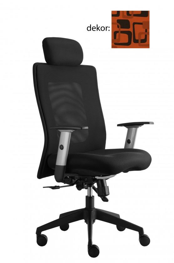 kancelářská židle Lexa s podhlavníkem (norba 76, sk.4)