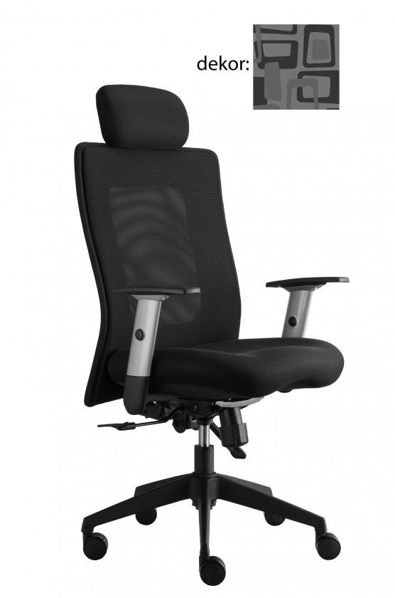 kancelářská židle Lexa s podhlavníkem (norba 81, sk.4)