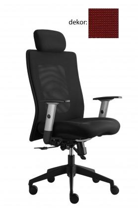 kancelářská židle Lexa s podhlavníkem (pola 220, sk.4)