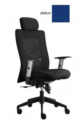 kancelářská židle Lexa s podhlavníkem (pola 318, sk.4)