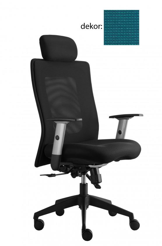 kancelářská židle Lexa s podhlavníkem (pola 362, sk.4)