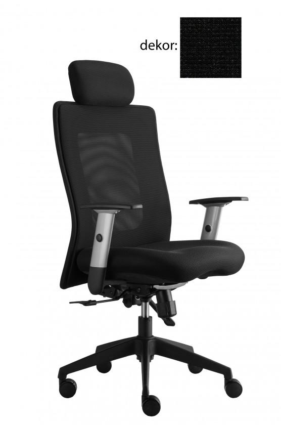 kancelářská židle Lexa s podhlavníkem (pola 651, sk.4)