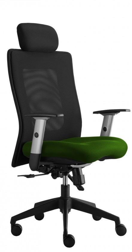 kancelářská židle Lexa s podhlavníkem (suedine 34, sk.1)