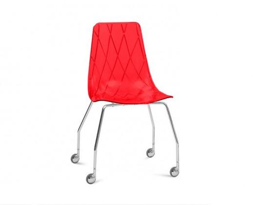 kancelářská židle Lynea-D - Kancelářská židle (červená)