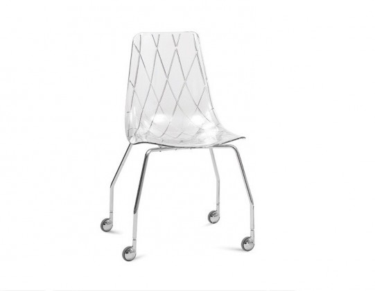 kancelářská židle Lynea-D - Kancelářská židle (transparentní)