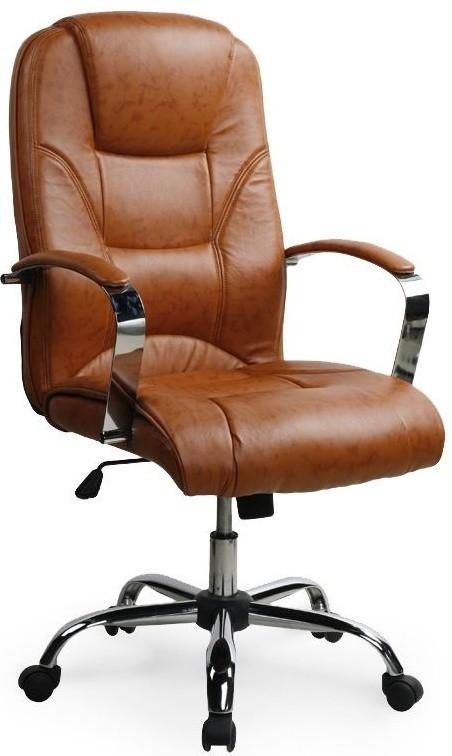 kancelářská židle Nelson - Kancelářské křeslo (světle hnědá)