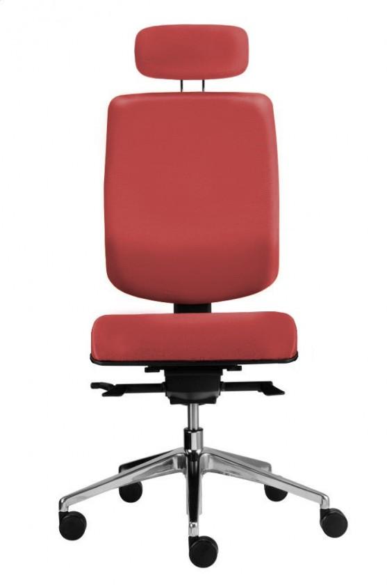 kancelářská židle Notio Boss - podhlavník, synchro P (potah - kůže)
