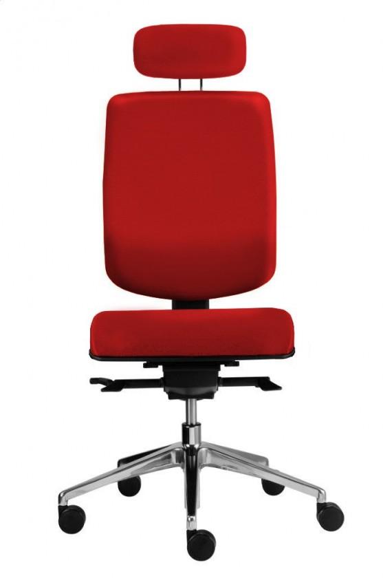 kancelářská židle Notio Boss - podhlavník, synchro P (potah - syntetická kůže)