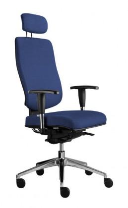 kancelářská židle Notio Boss - s područkami P93, podhlavník, synchro P (potah - látka)