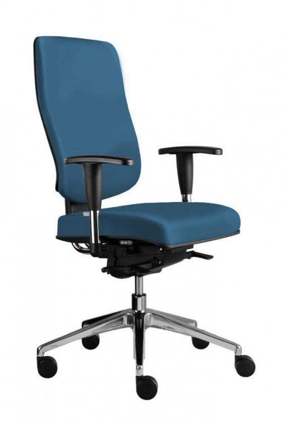 kancelářská židle Notio Boss - s područkami P93, synchro P (potah - kůže)