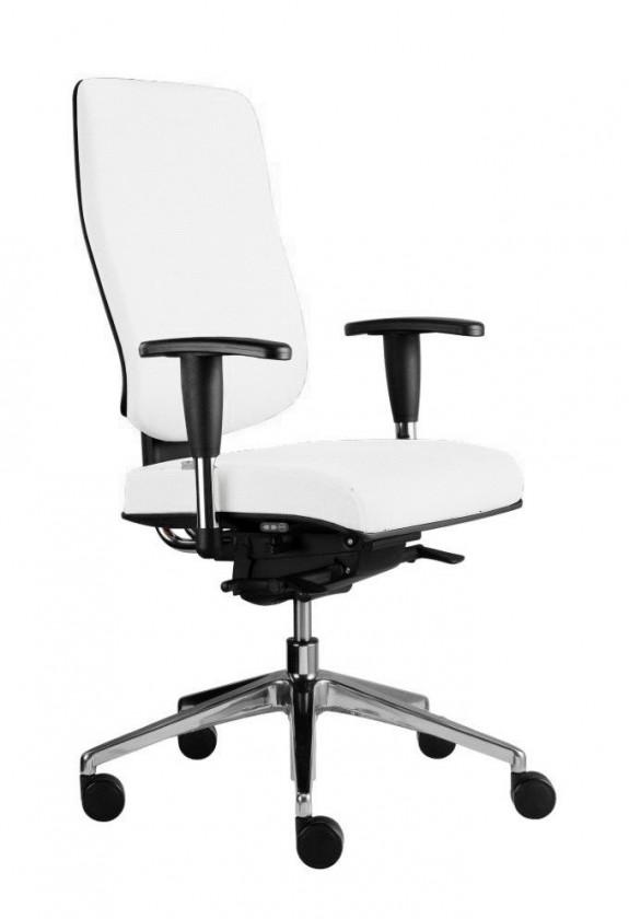 kancelářská židle Notio Boss - s područkami P93, synchro P (potah - syntetická kůže)