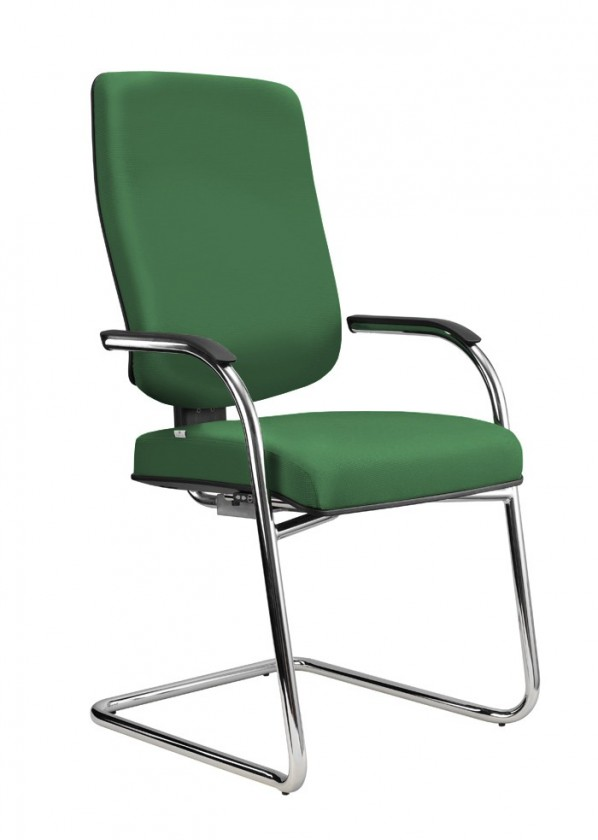 kancelářská židle Notio Medios - s područkami (potah - kůže)