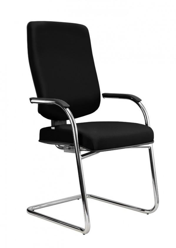 kancelářská židle Notio Medios - s područkami (potah - syntetická kůže)