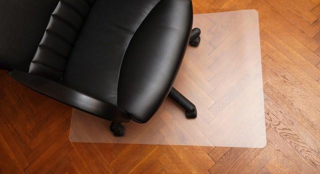 kancelářská židle Podložka pod židli 80x100 (mléčná)