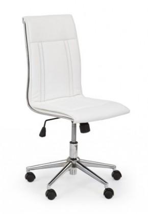 kancelářská židle Porto - Kancelářská židle, nosnost 90 kg (bílá)