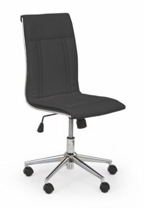 kancelářská židle Porto - Kancelářská židle, nosnost 90 kg (černá)