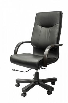 kancelářská židle Sarasota (černá, hnědá)