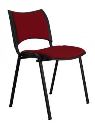 kancelářská židle Smart - vínová