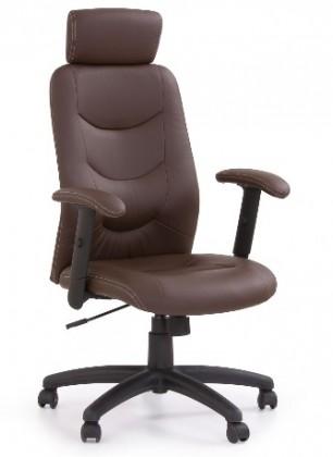 kancelářská židle Stilo-Kancelářské křeslo (hnědá)