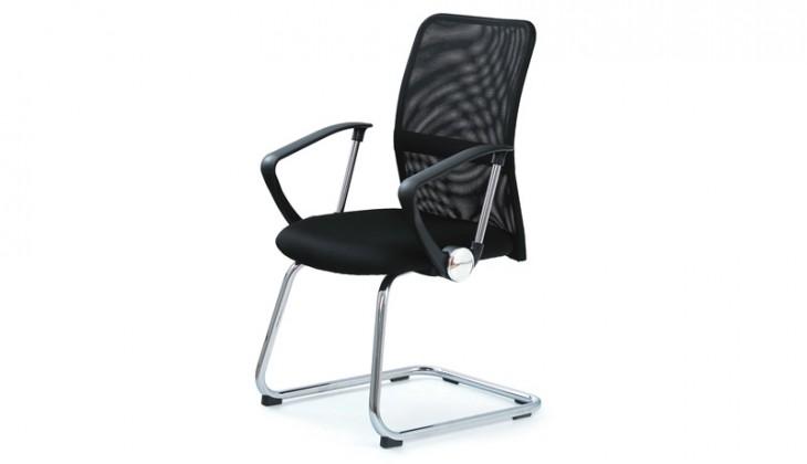 kancelářská židle Vire Skid (černá)