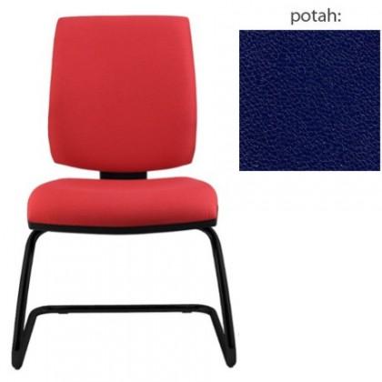 kancelářská židle York prokur černá(koženka 68)