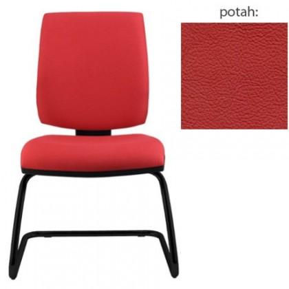 kancelářská židle York prokur černá(kůže 163)