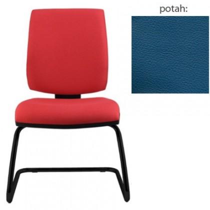 kancelářská židle York prokur černá(kůže 166)