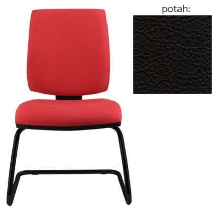 kancelářská židle York prokur černá(kůže 176)