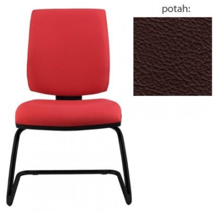 kancelářská židle York prokur černá(kůže 177)