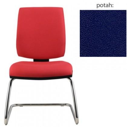 kancelářská židle York prokur chrom(koženka 68)