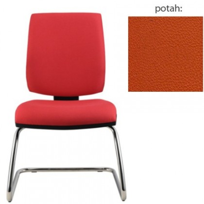 kancelářská židle York prokur chrom(koženka 74)