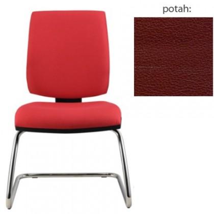 kancelářská židle York prokur chrom(koženka 85)