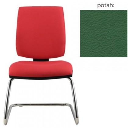 kancelářská židle York prokur chrom(kůže 161)
