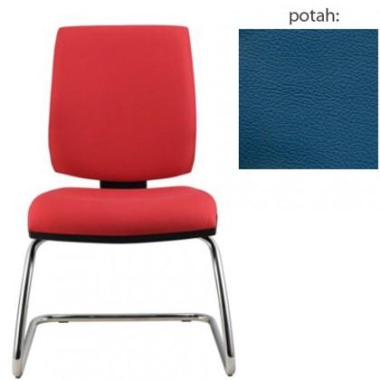 kancelářská židle York prokur chrom(kůže 166)