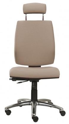 kancelářská židle York šéf AT-synchro(suedine 109)