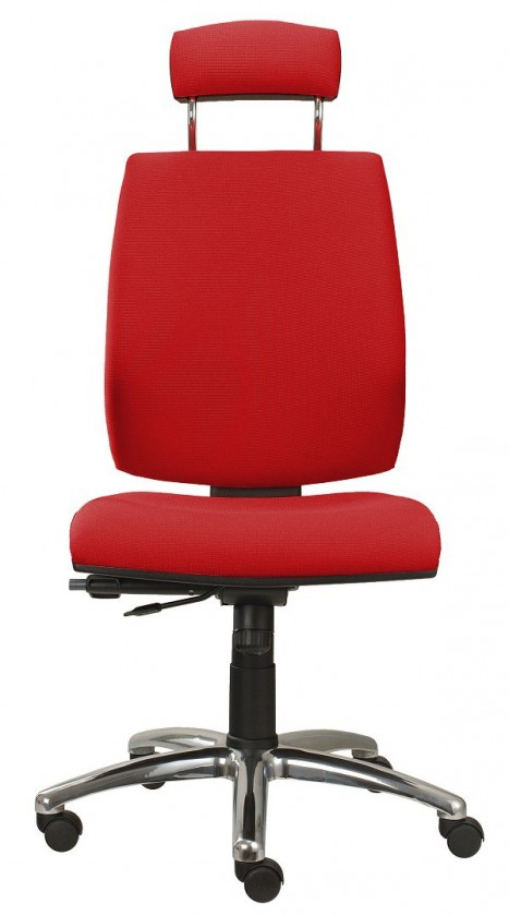 kancelářská židle York šéf AT-synchro(suedine 2)