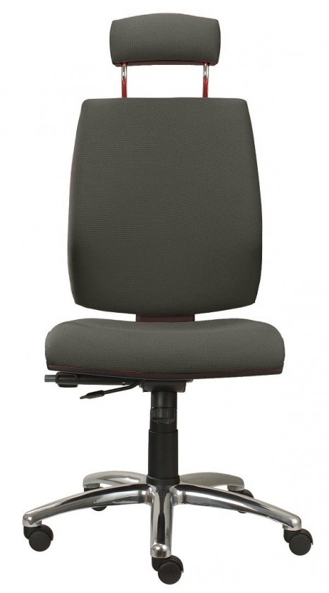 kancelářská židle York šéf AT-synchro(suedine 24)