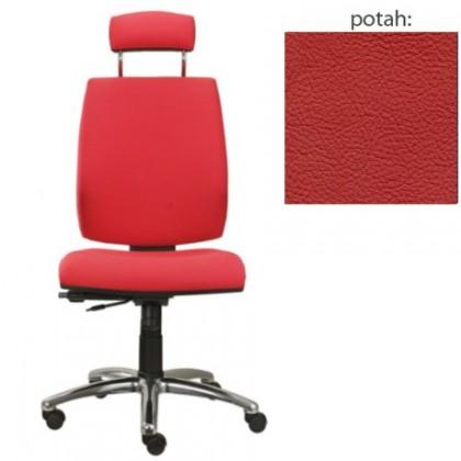 kancelářská židle York šéf E-synchro(kůže 163)