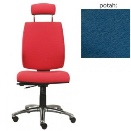 kancelářská židle York šéf E-synchro(kůže 166)